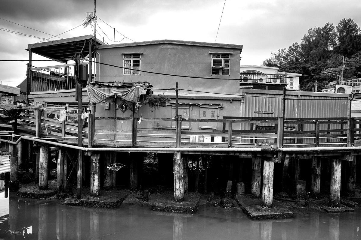 Tai O Balıkçı Kasabası