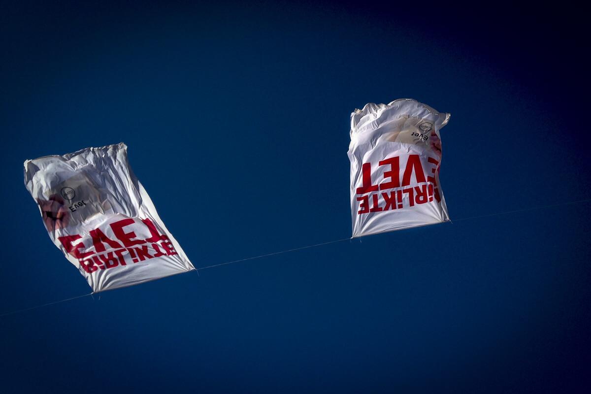 evet bayrakları