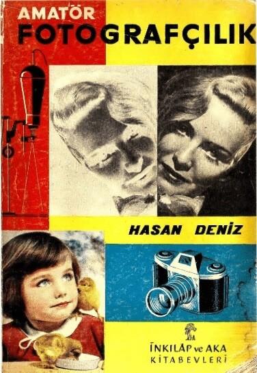 Hasan Deniz Amatör Fotoğrafçılık kitabı